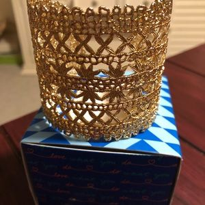 Stella & Dot Alice Laced Cuff - New!!